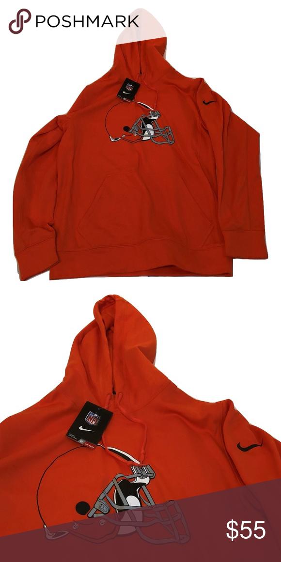 Cleveland Browns Nike Logo Hoodie Sweatshirt Cleveland Browns Nike  supplier