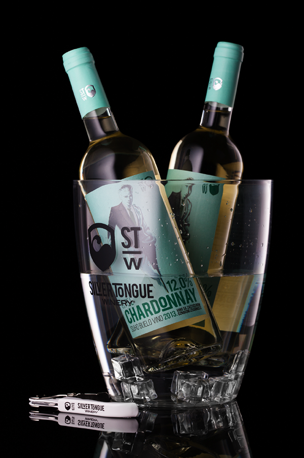 STW wines on Behance