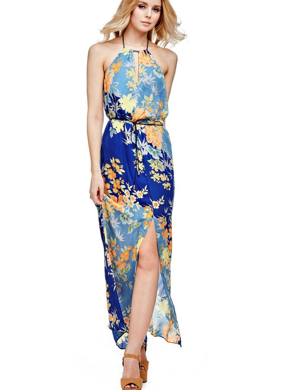 sports shoes e1c7f df101 ABITO LUNGO FIORI   Dresses   Dresses, Guess dress, Boutique ...