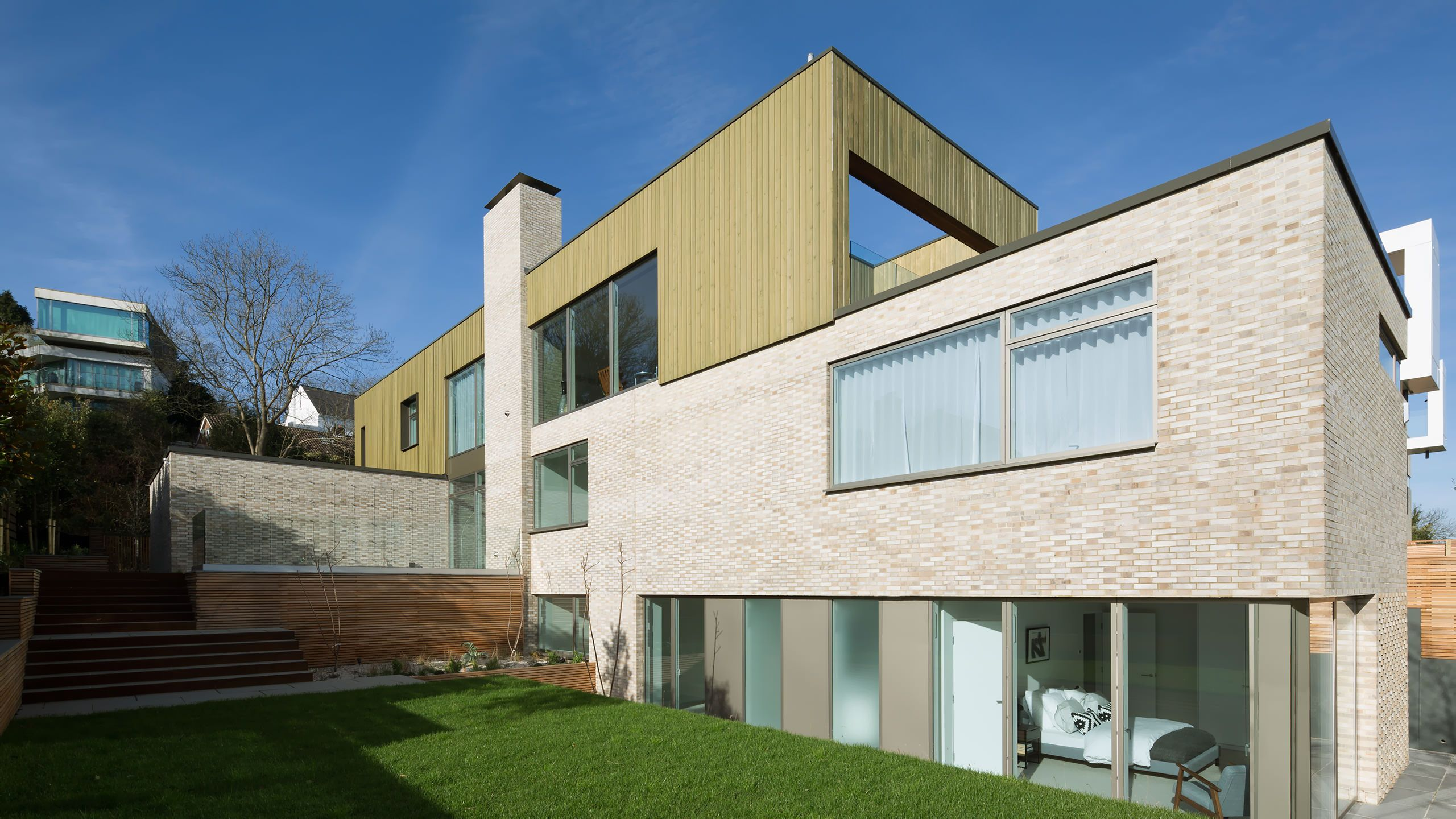Withdean Road Houses, Sussex UK - John Pardey Architects (JPA)