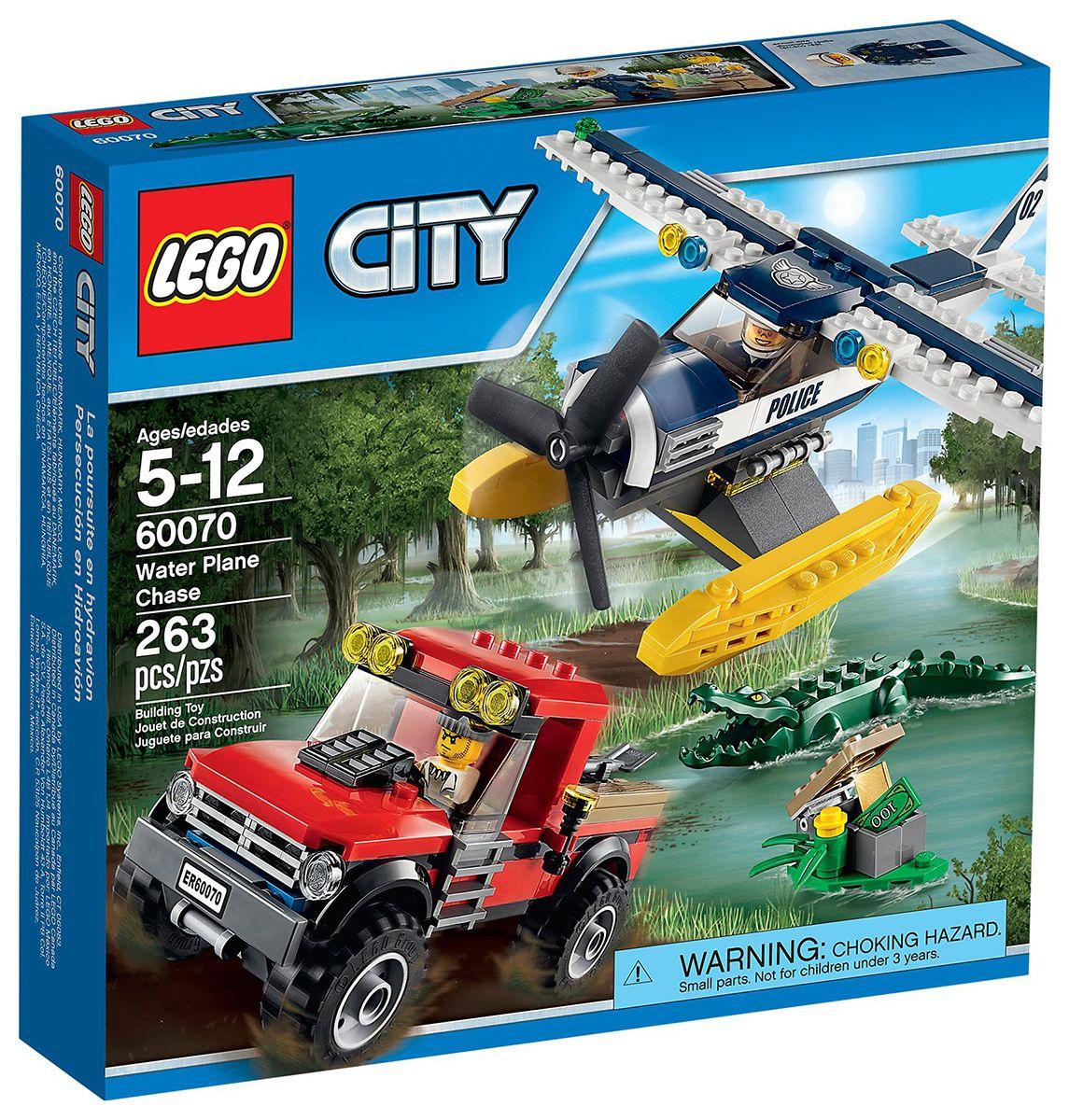 lego city 60070 la poursuite en hydravion pinterest les lego hydravion et poursuite. Black Bedroom Furniture Sets. Home Design Ideas