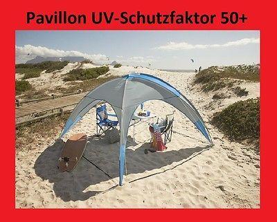 Pavillon Zelt Garten Partyzelt Strandmuschel Xxl Camping Strand Uv 50 Neu Partyzelt Zelten Strandmuschel