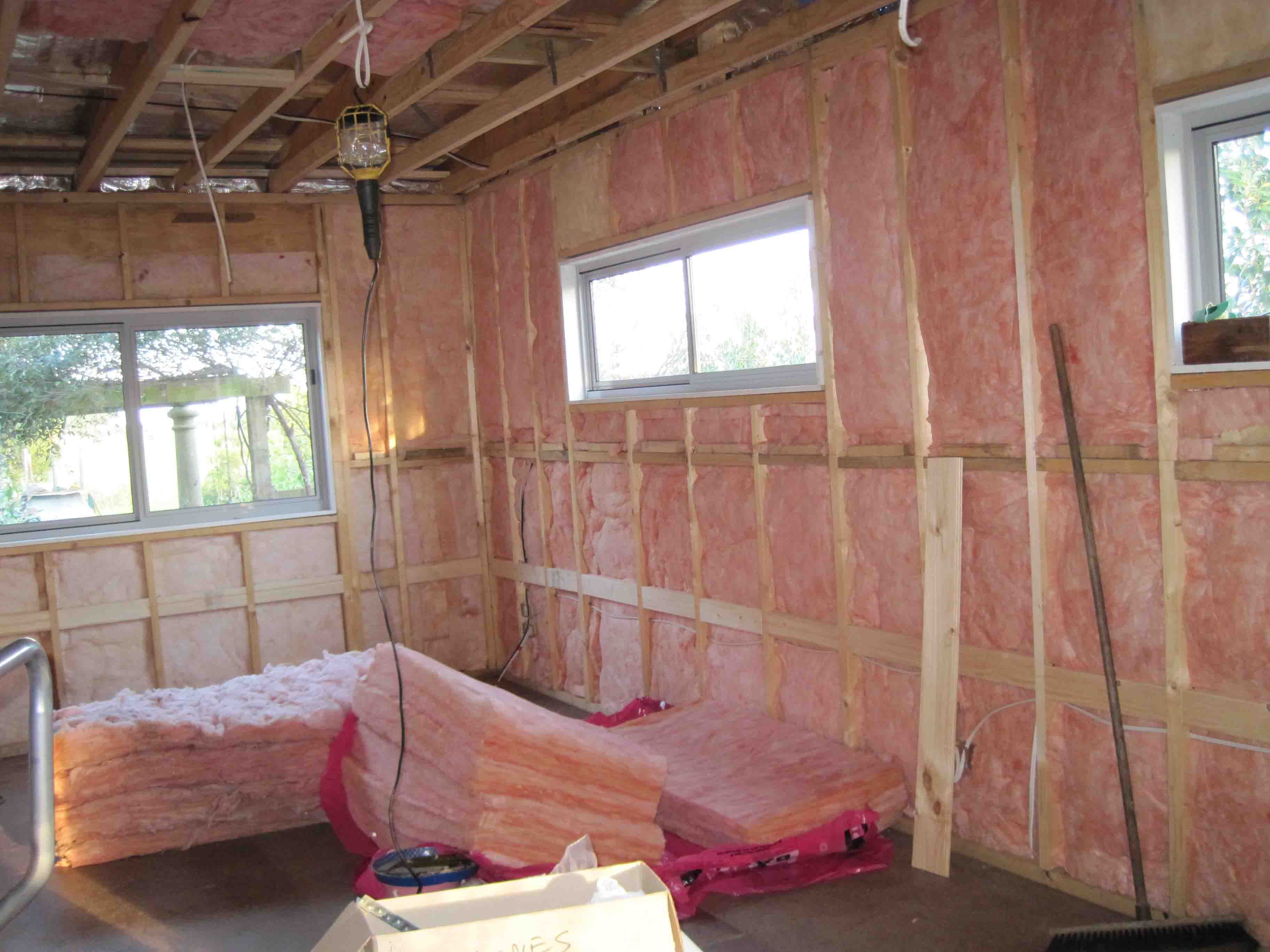 Powers Drywall Insulation Inc Offers Builders And Homeowners A Unique One Phone Call Does It All Approac Blown In Insulation Acoustical Ceiling Homeowner