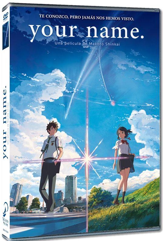 Your Name Video Dvd Una Pelicula De Makoto Shinkai Peliculas De Adolecentes Peliculas De Anime Peliculas De Animacion