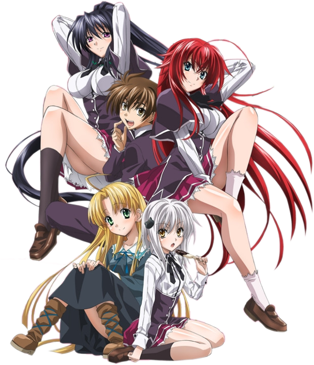 High School DxD Render by Vurdalak84 Anime high school