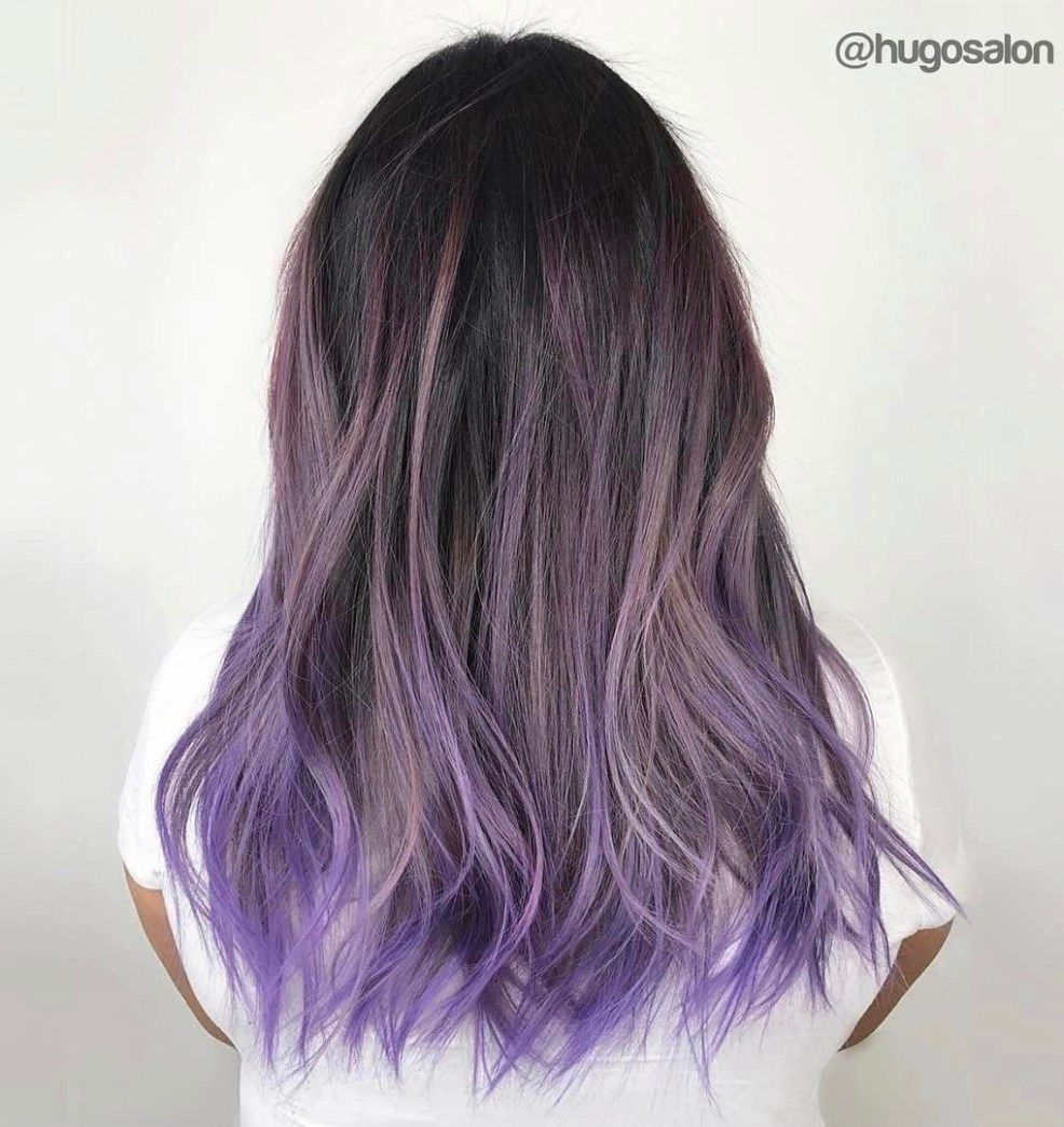 20 Purple Balayage Ideas From Subtle To Vibrant Purple Balayage Ash Hair Color Balayage Hair Purple