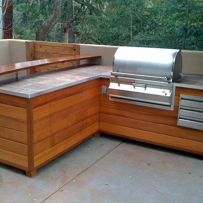 Simple Outdoor Kitchens And Patios Outdoor Kitchen