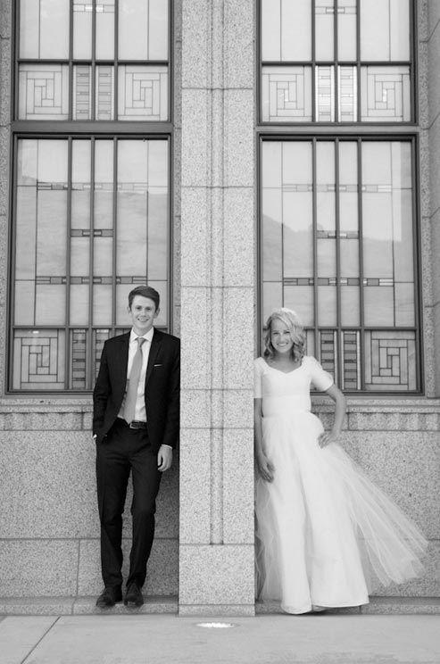 Dan Kristen were married at the Draper Utah Temple of Latter-Day ...