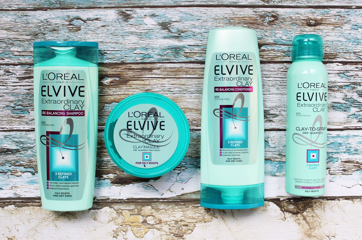L Oreal Elvive Extraordinary Clay Collection Tales Of A Pale Face Uk Beauty Blog Oily Roots Loreal Hair Care