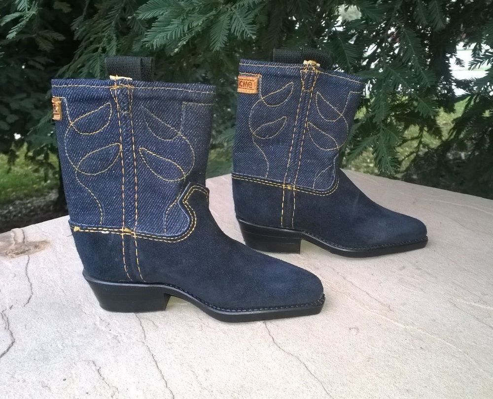 """MINATURE LEVI BOOTS   ONLY 6"""" LONG  COLLECTIBLE ITEM"""
