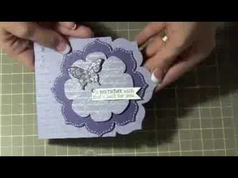 Card Making Video Tutorial Fun With Framelits Birthday Die Cutting Stamping Embossing And Embelishing Stampin Up