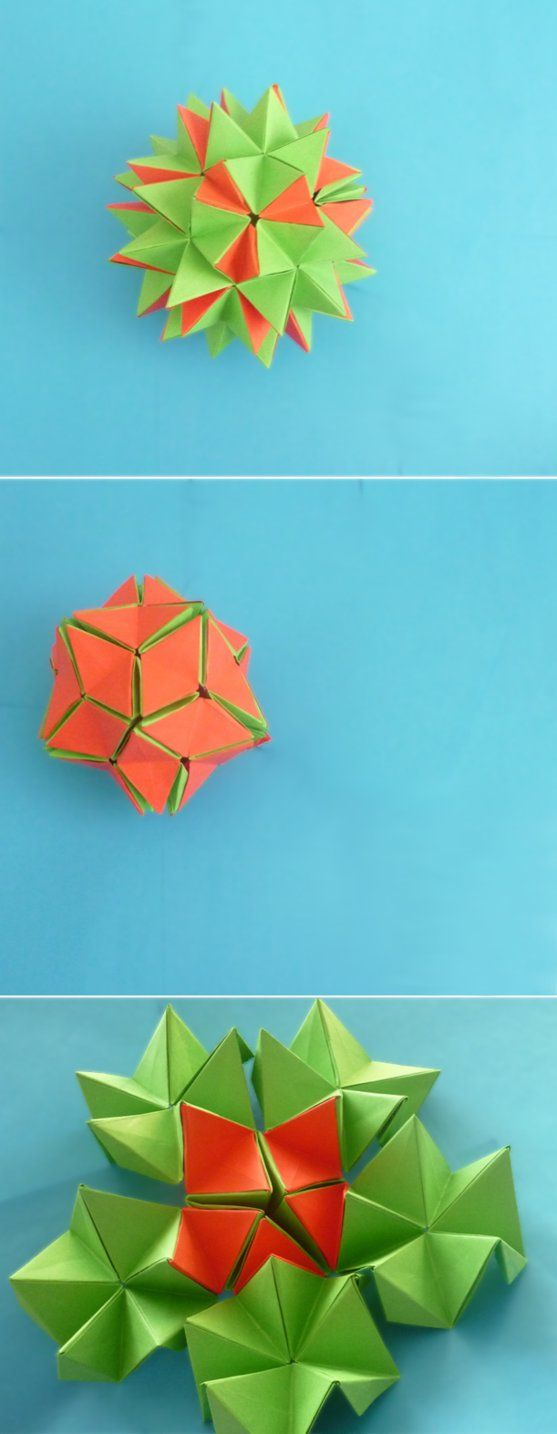 Origami Revealed Flower By Origamipieces On Deviantart Httpswww