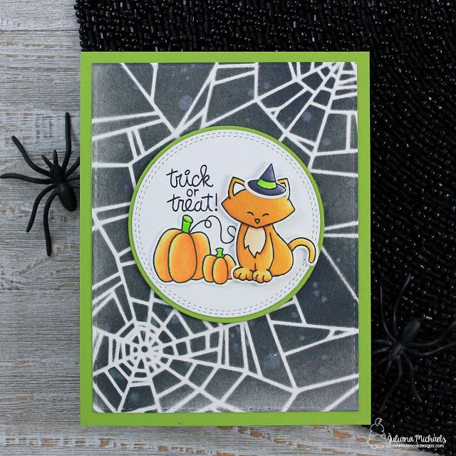 Trick Or Treat Halloween Card With Images Halloween Cards Halloween Greetings Halloween Treat Bags