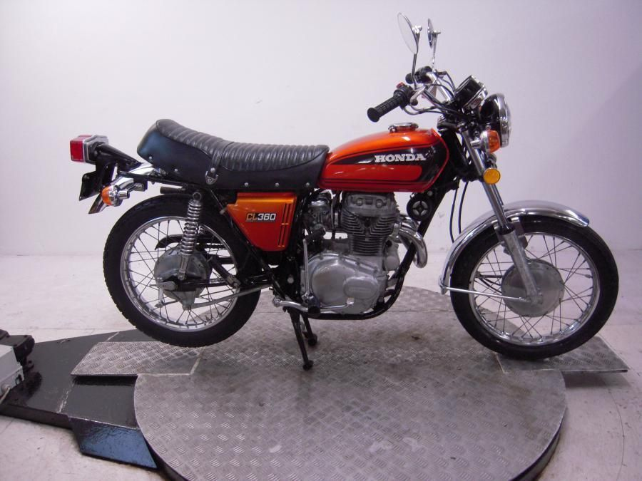 eBay: 1975 Honda CL360K1 Unregistered US Import Barn Find ...