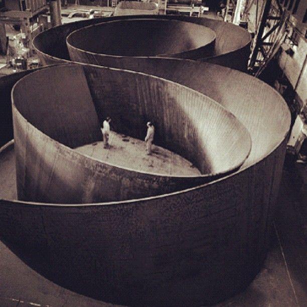 Some Richard Serra #design #inspiration