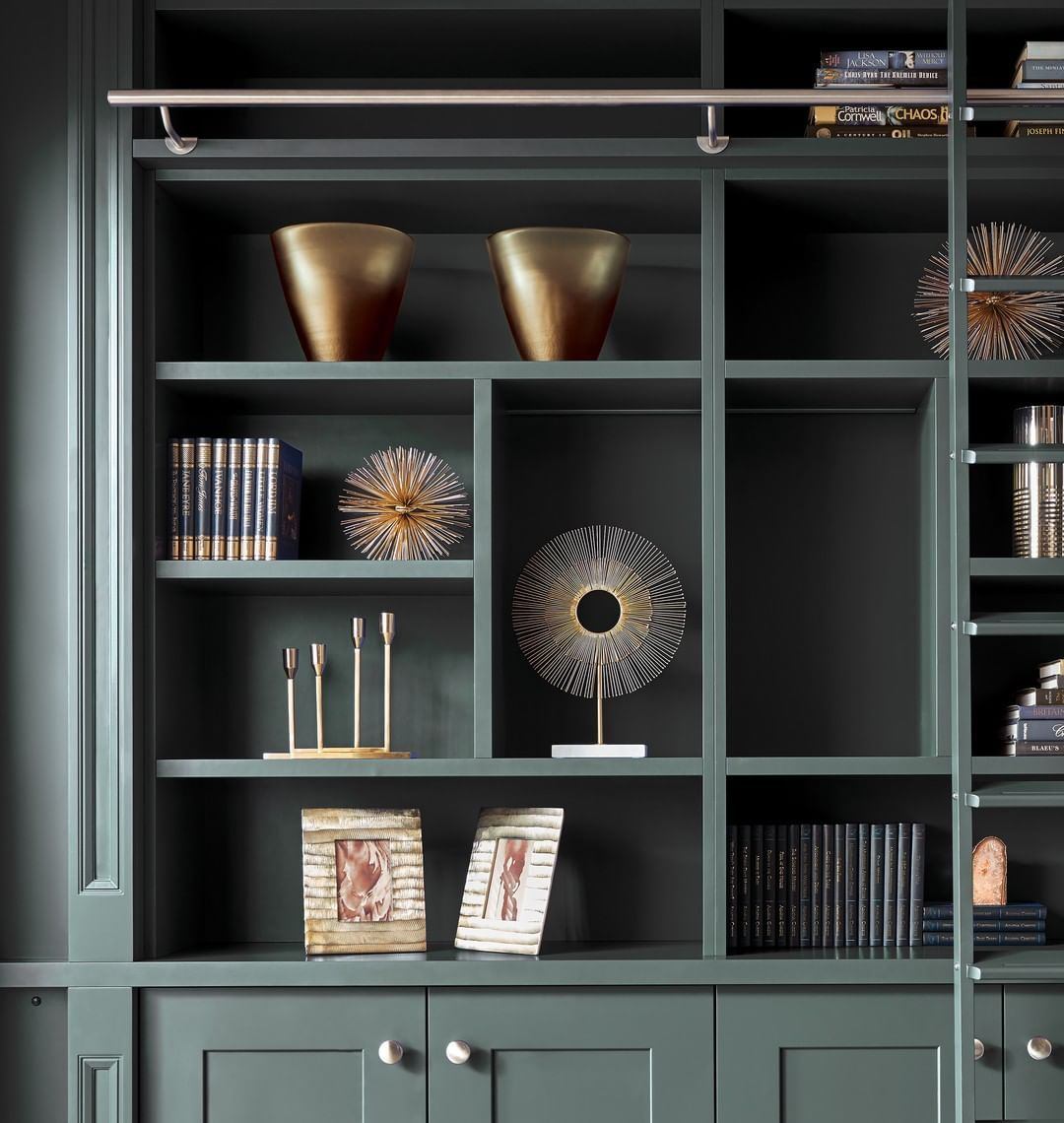 Neville Johnson Furniture On Instagram Trends Are Often Developed And Driven By Changes In O Home Library Design Living Room Built Ins Garden Room Extensions