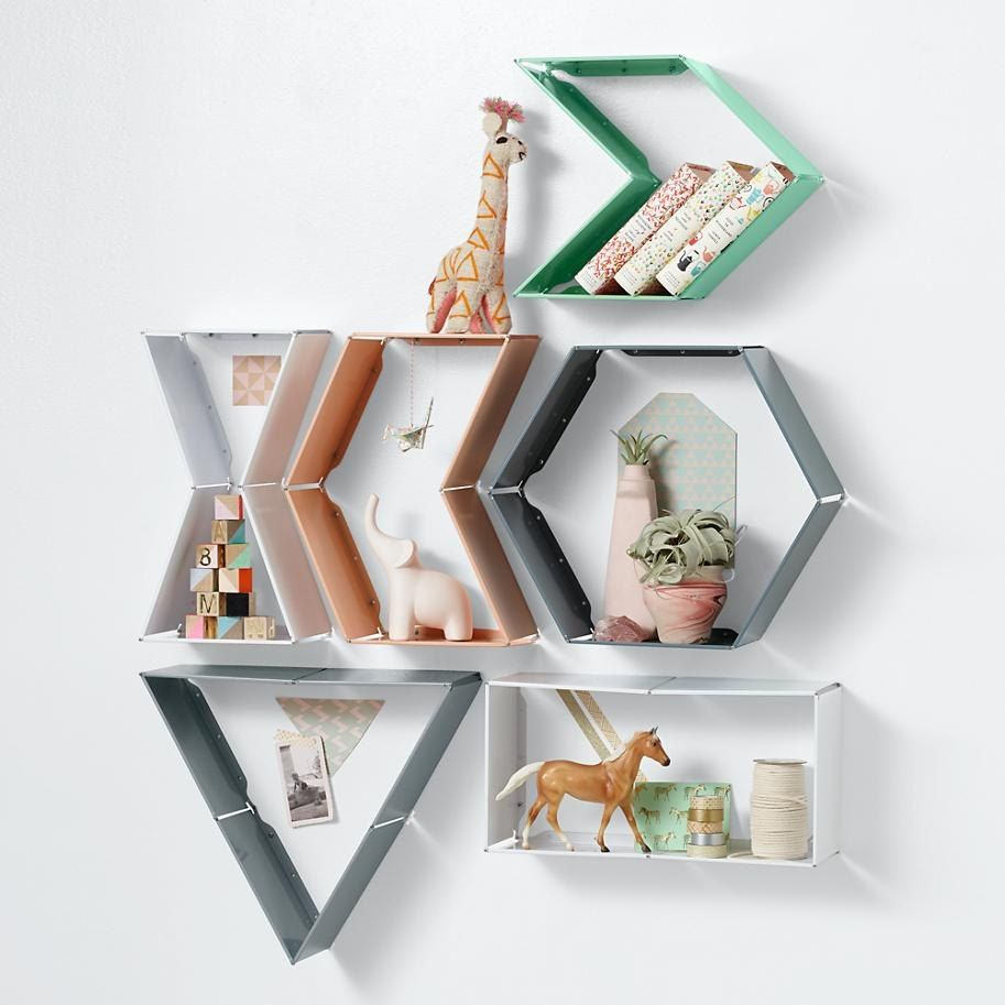 Geo Wall Shelf Designs Geometric Shelves Wall Shelves Wall Shelves Design