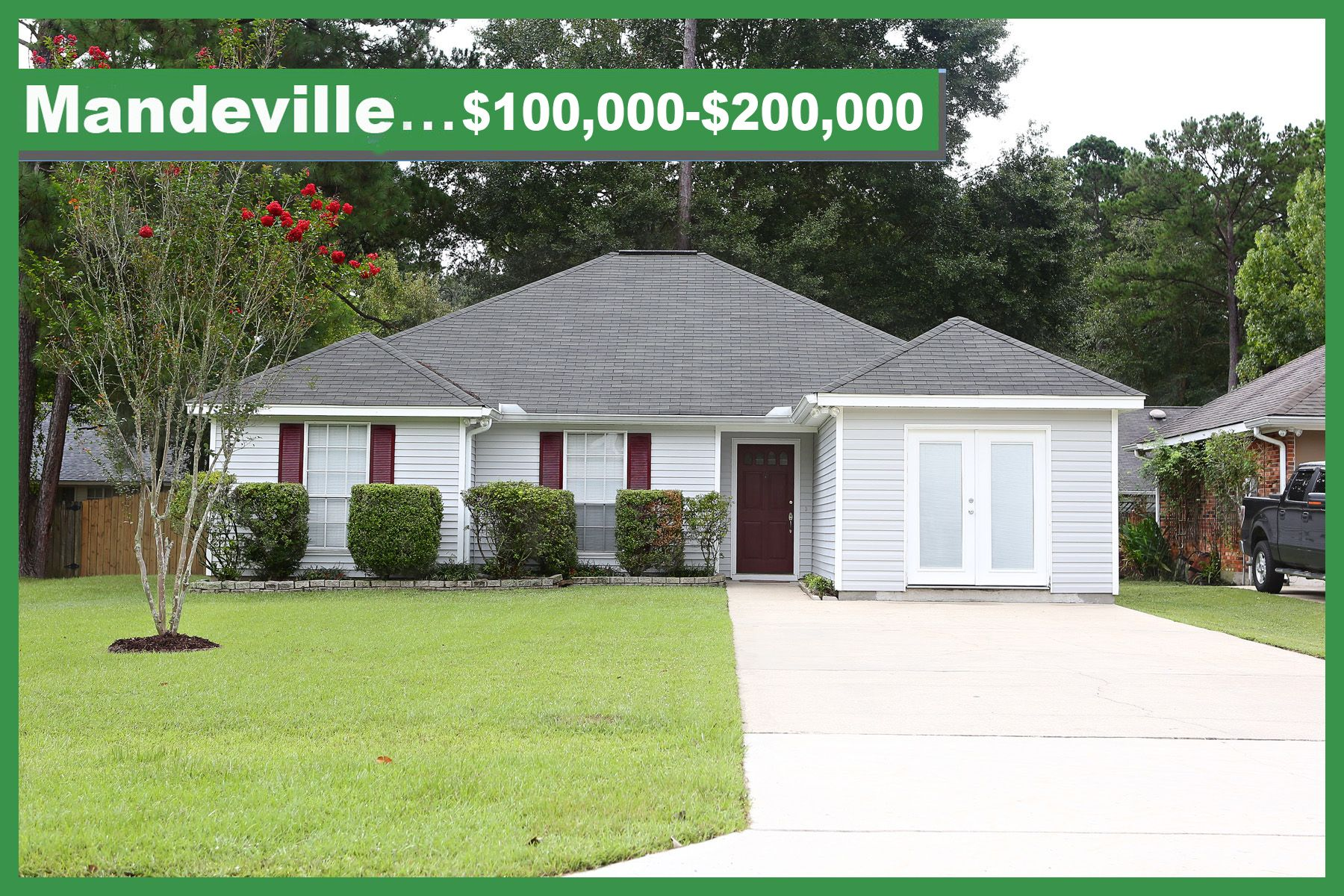 Mandeville Louisiana Real Estate 100 000 200 000 St Tammany Homes Patio Homes Condos Townhouses And More W Real Estate Louisiana Homes La Real Estate