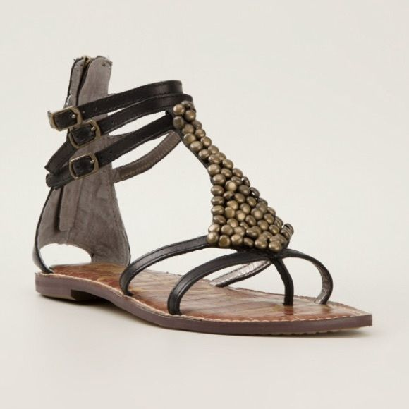 Sam Edelman ginger gladiator sandals Like new-literally only worn for. A photoshoot Sam Edelman Shoes Sandals