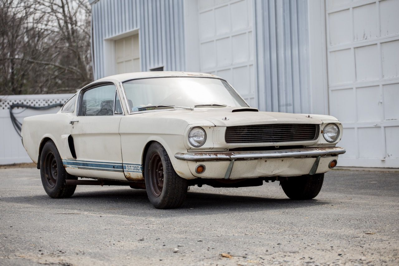 1966 Ford Mustang Shelby Gt350 Unrestored One Owner Ford