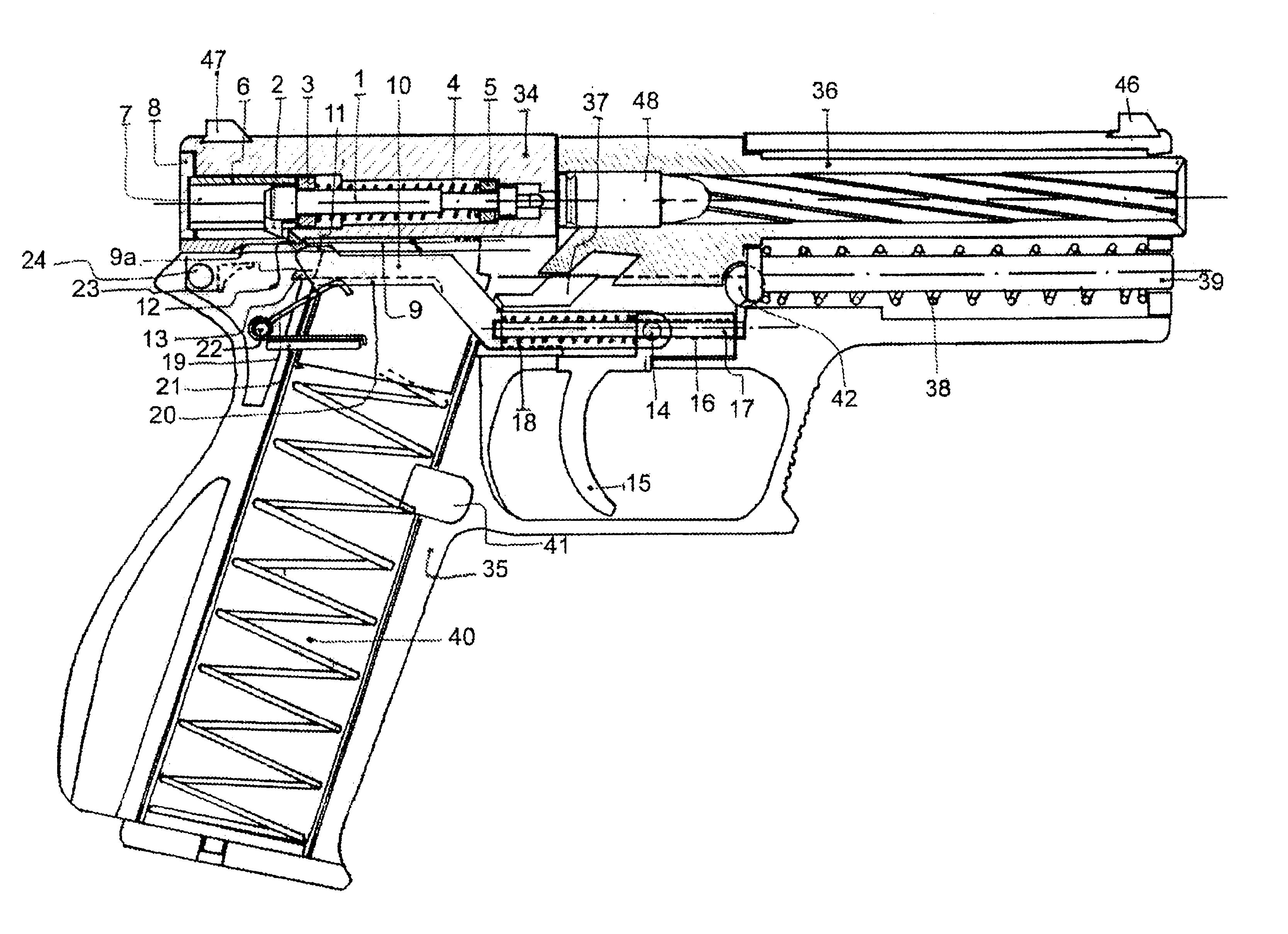 medium resolution of striker trigger mechanism for automatic and semi automatic firearms