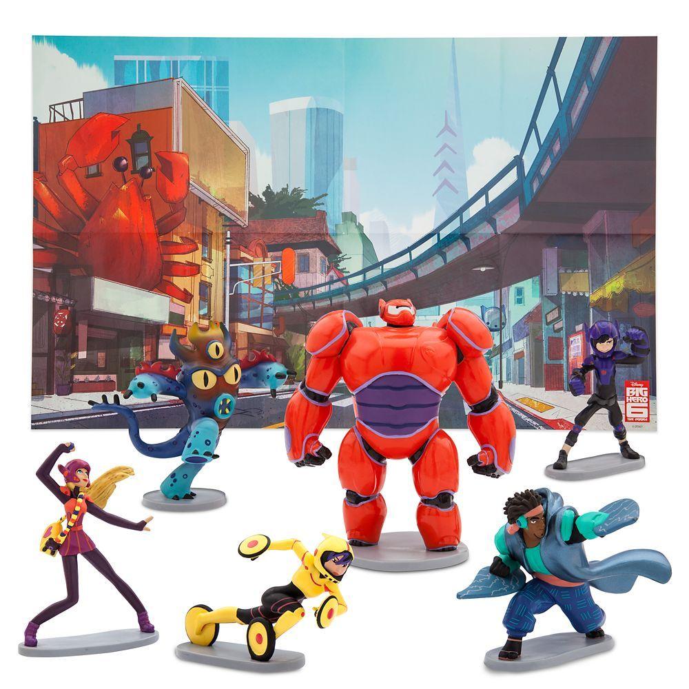 Big Hero 6 Figure Play Set shopDisney in 2020 Big hero