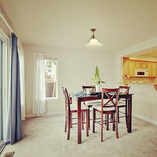 Premier Home Staging California Hgtv: We Used A Smaller Dining Table In This Space To Ensure The