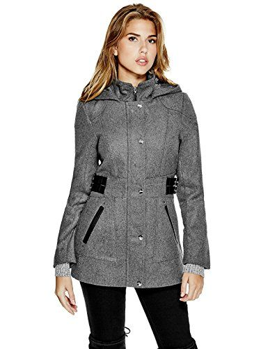 GUESS Women's Jonina Wool-Blend Coat - http://www.darrenblogs.com ...