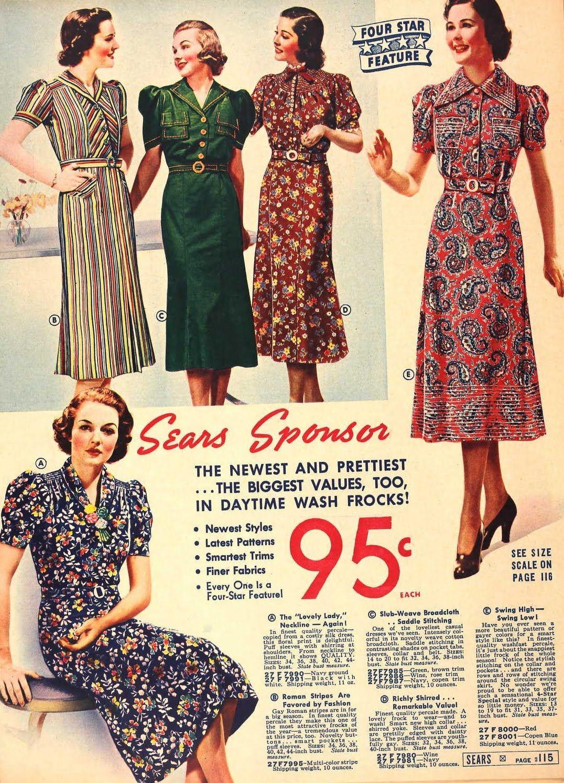 1937 fashion - Google Search | 1930*s fashion | Pinterest