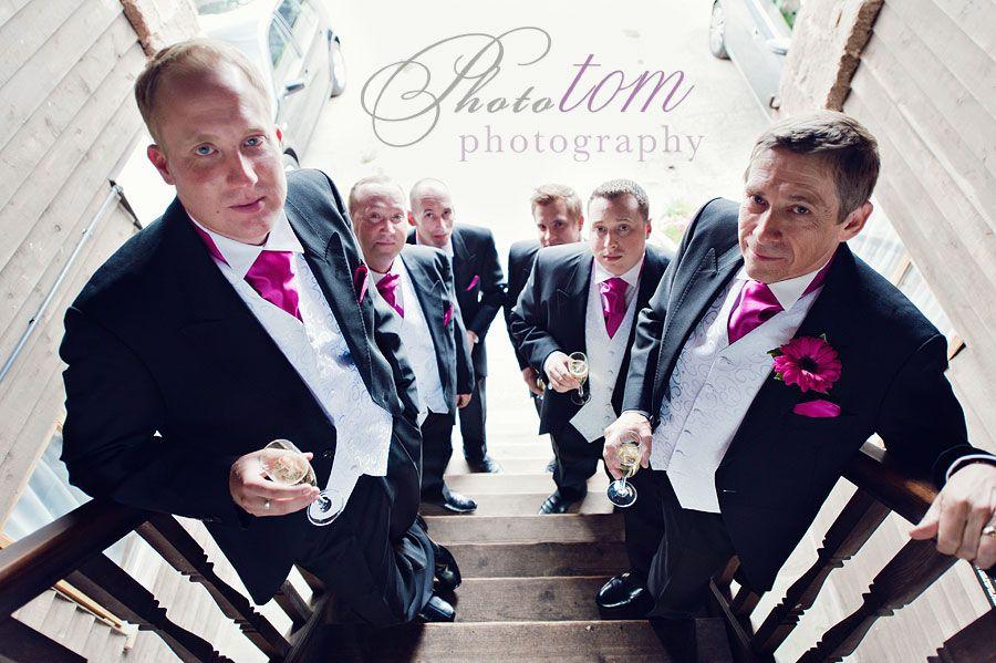 groomsmen. Nice group look. #wedding #photography