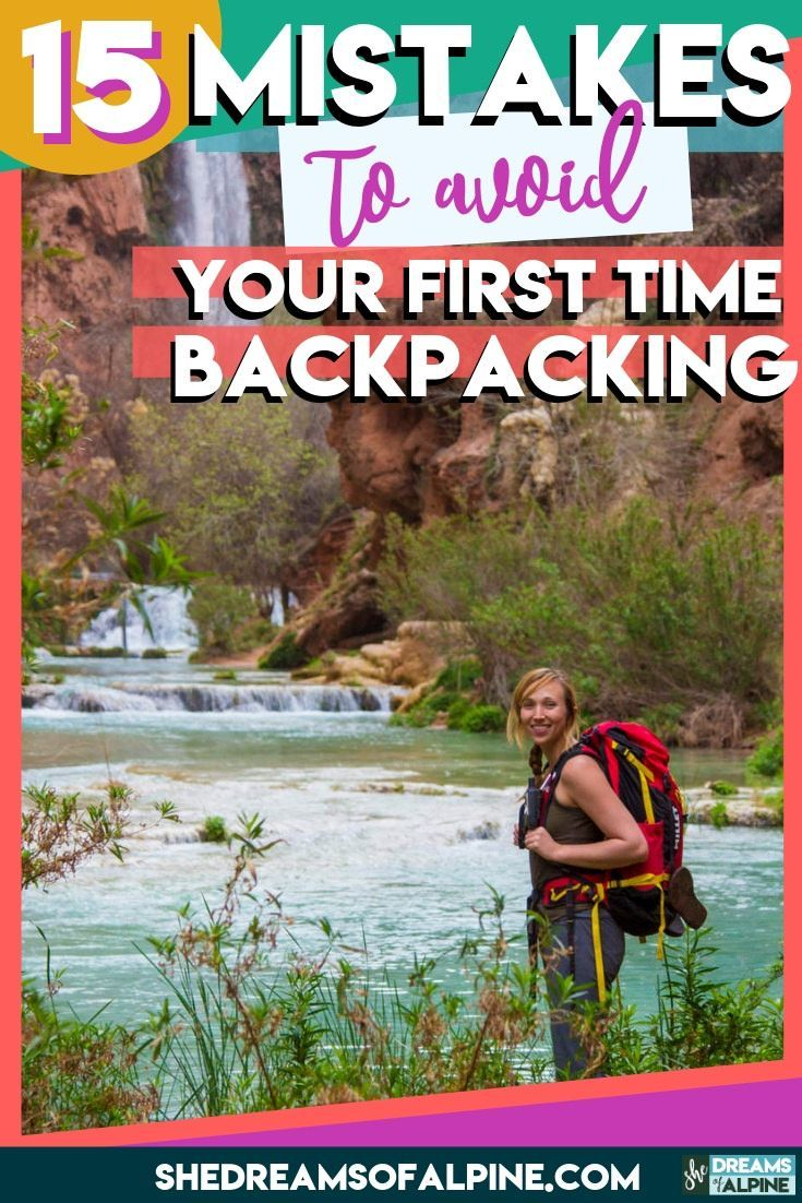 Photo of Backpacking for Beginners: 15 Rookie Mistakes To Avoid Your First Time Backpacking — She Dreams Of Alpine