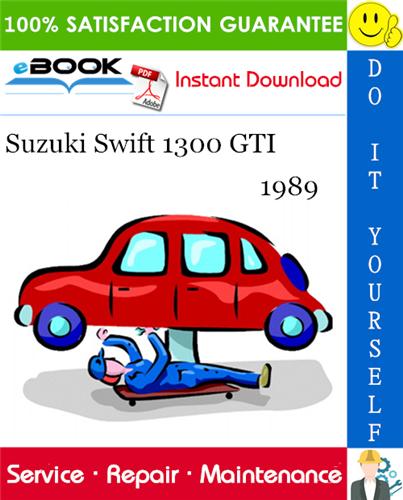 1989 Suzuki Swift 1300 Gti Service Repair Manual Repair Manuals Nissan Pulsar Nissan Skyline
