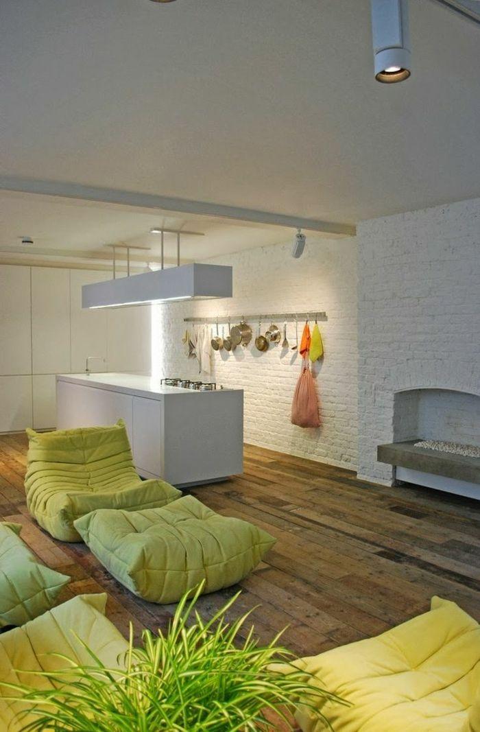 Les beaux décors avec le canapé togo légendaire Ligne roset