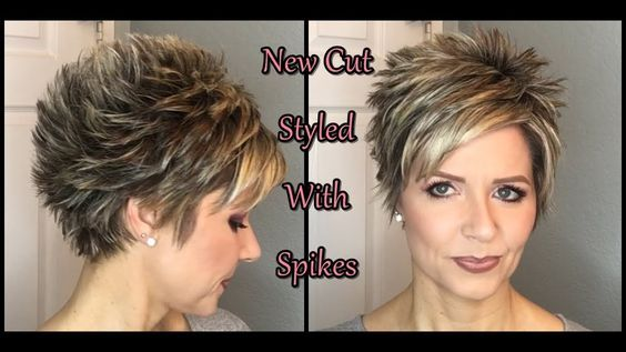 Hair Tutorial My New Cut Spiked Style Youtube Hair