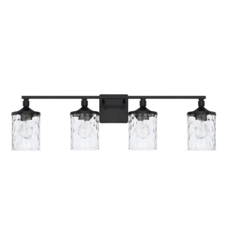 Photo of Capital Lighting 128841MB-451 Matte Black Colton 4 Light 34″ Wide Bathroom Vanity Light