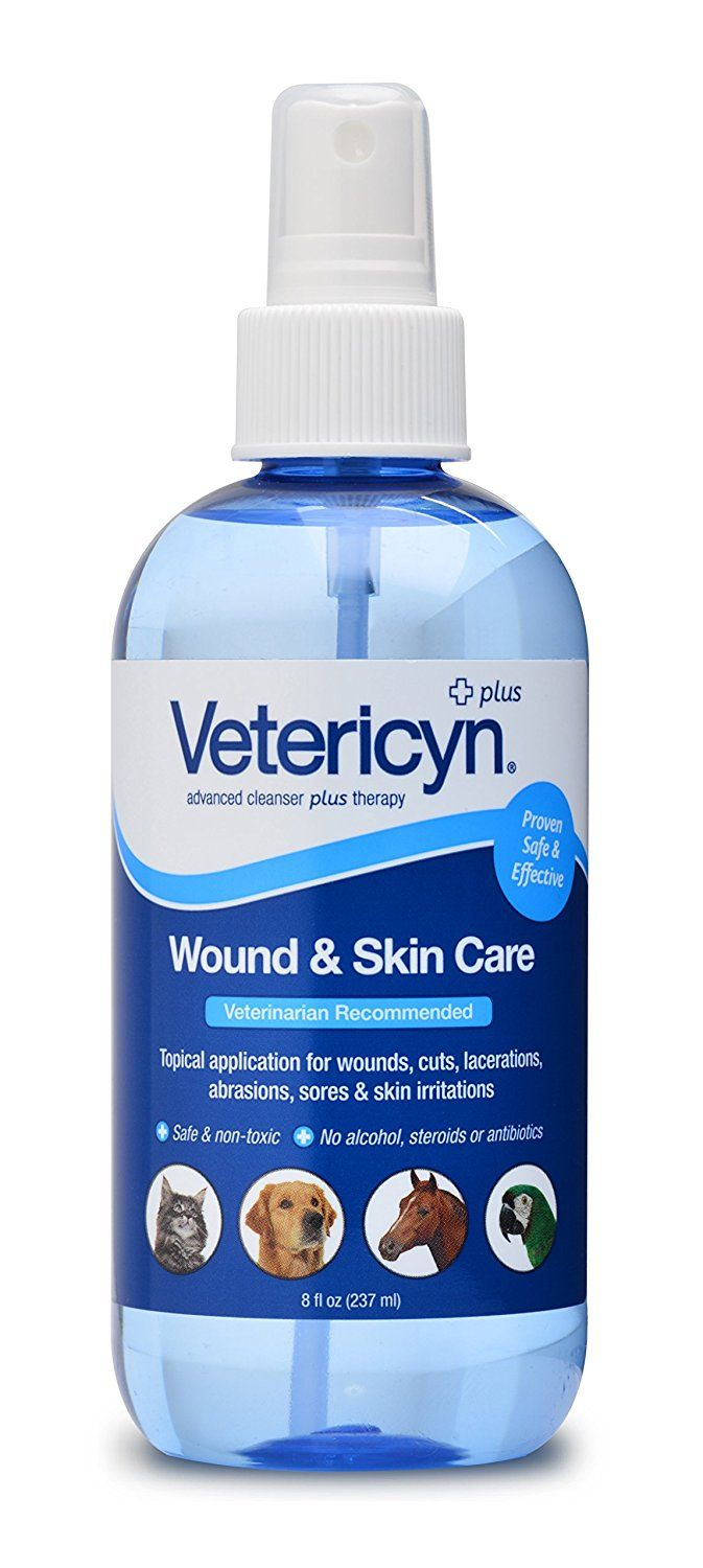 Vetericyn All Animal Wound And Infection Spray 8 Oz You Can Get More Details By Clicking On The Image Skin Care Ear Care Animals