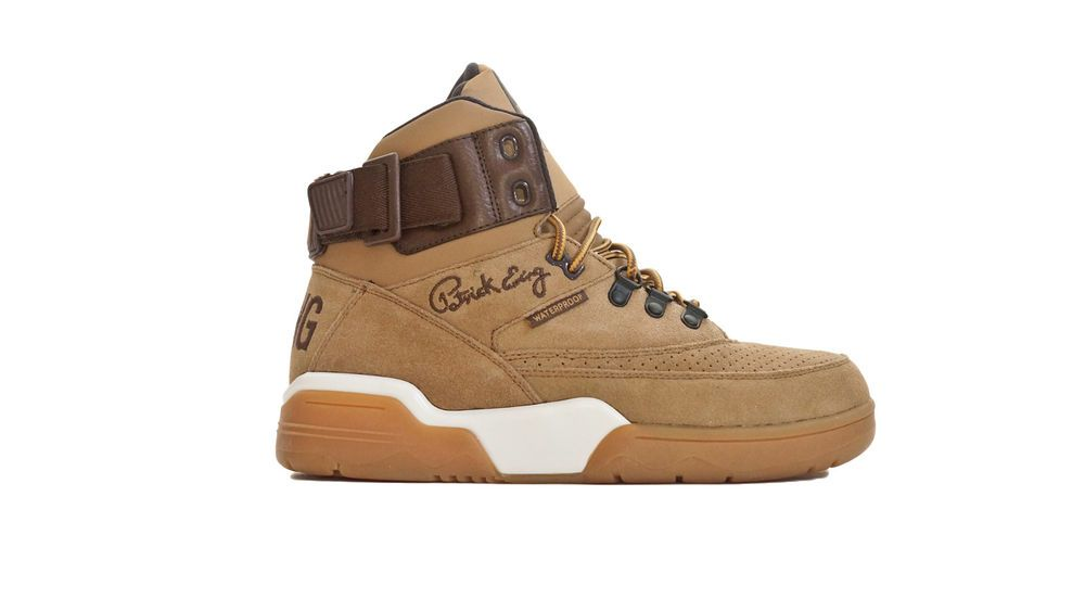 half off ad075 08a87 Ewing Athletics 33 Hi Brand New Sand Pinecone Wheat Winter Boot with Gum  Sole  EwingAthletics  BasketballShoes