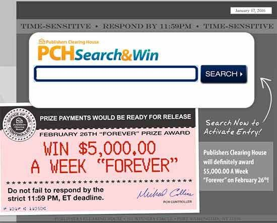 Image result for PCH Sweepstakes Like PCH Search Win Get A