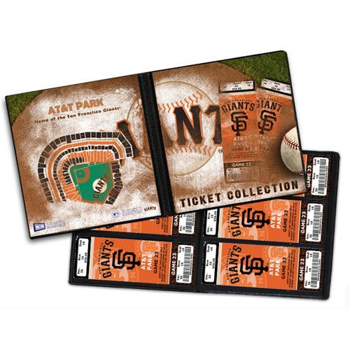 Ticket Album MLB San Francisco Giants (Holds 96 Tickets)