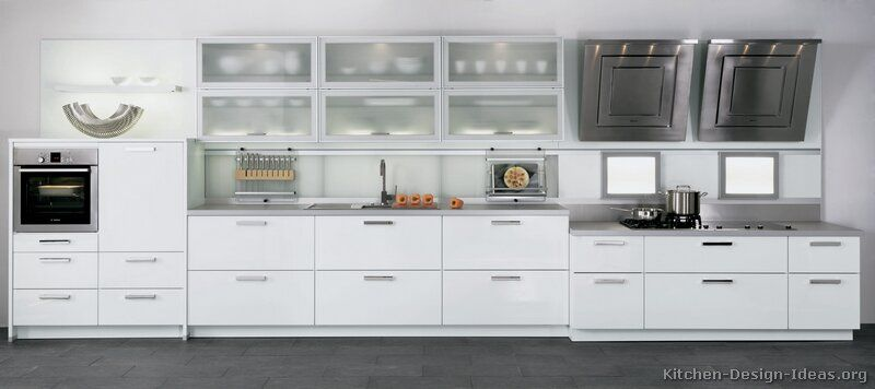 White Modern Kitchen Cabinet modern white kitchen cabinets #18 (alno, kitchen-design-ideas