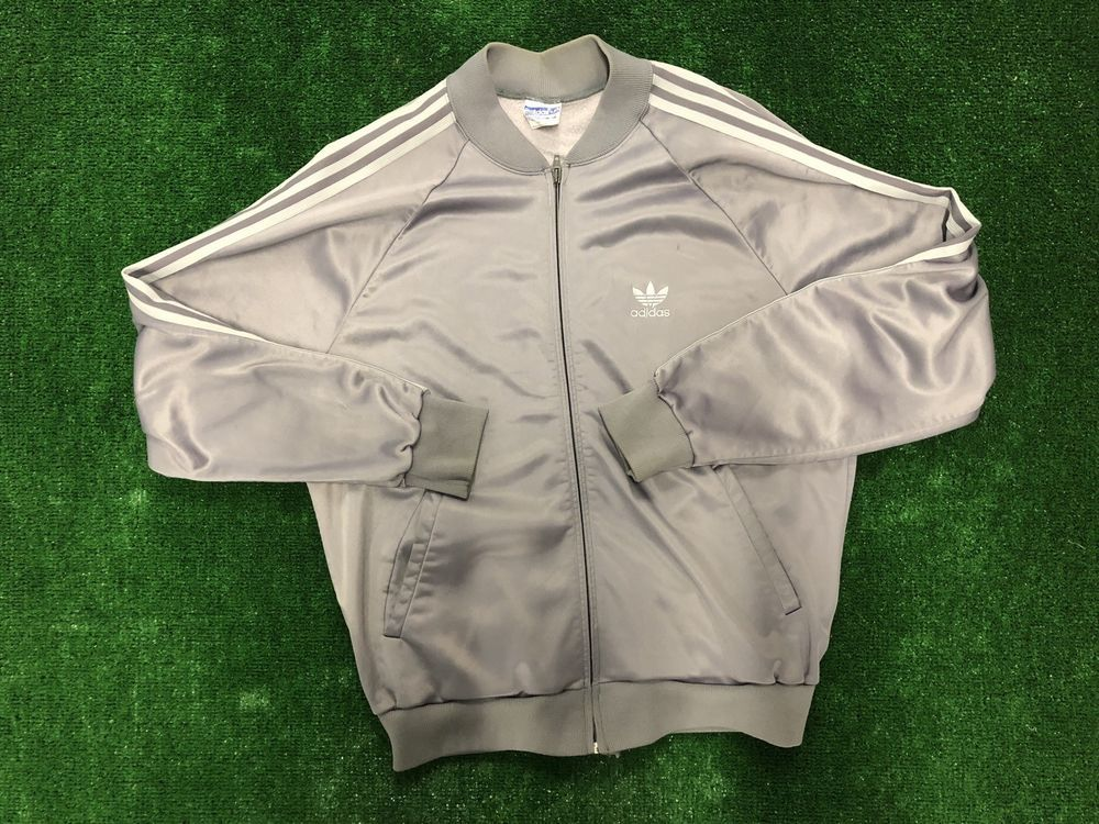 Vintage Adidas Trefoil Jacket Sz L Three Stripes Atp Keyrolan Made