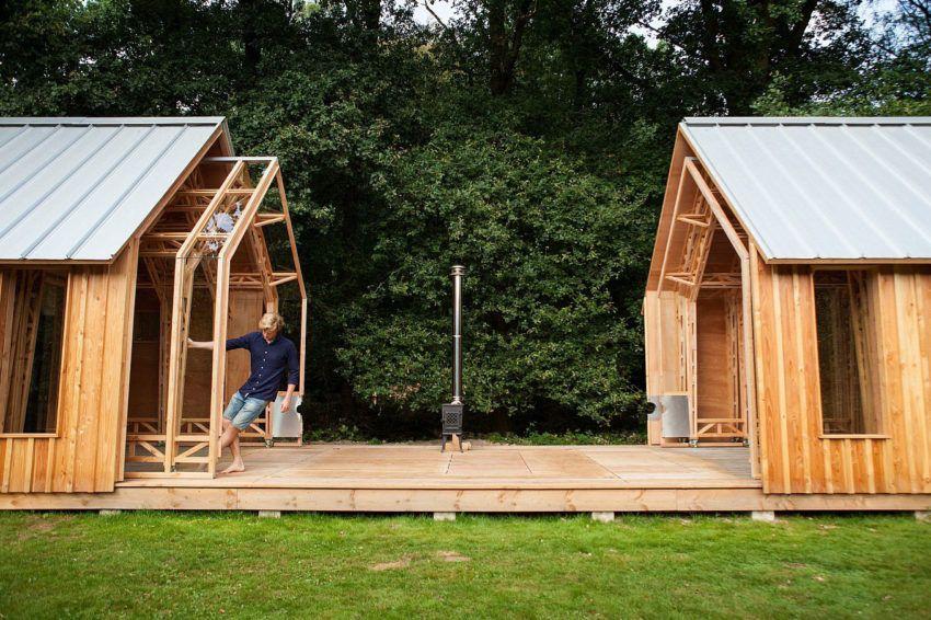 Ingenious Wooden Shed Full Of Surprises In The Outskirts Of Eindhoven Holzhaus Garten Schuppen Ideen Gartenhaus