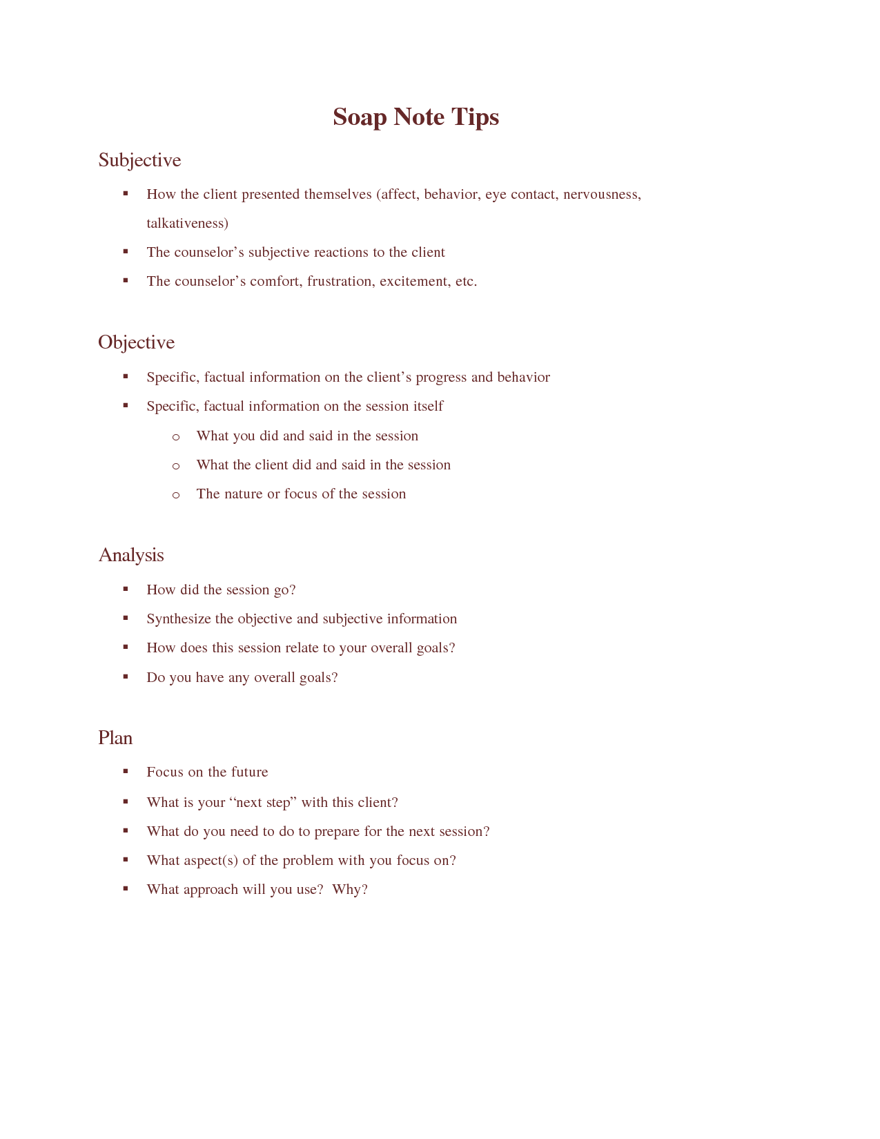 Soap Note Templates In This Soap Note And Progress Note Kit Available