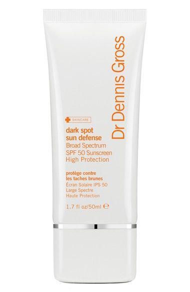 Dr. Dennis Gross Skincare Dark Spot Sun Defense Broad Spectrum SPF 50 Sunscreen available at #Nordstrom