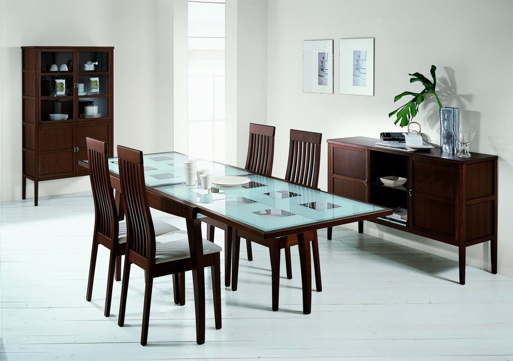 Extendable Dining Table And 4 Chairs Calligaris Bon Ton Common