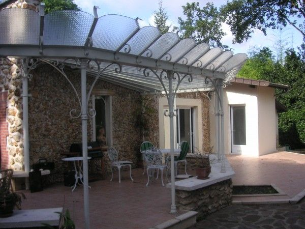 r sultat de recherche d 39 images pour pergola fer forge verandas pinterest pergola. Black Bedroom Furniture Sets. Home Design Ideas
