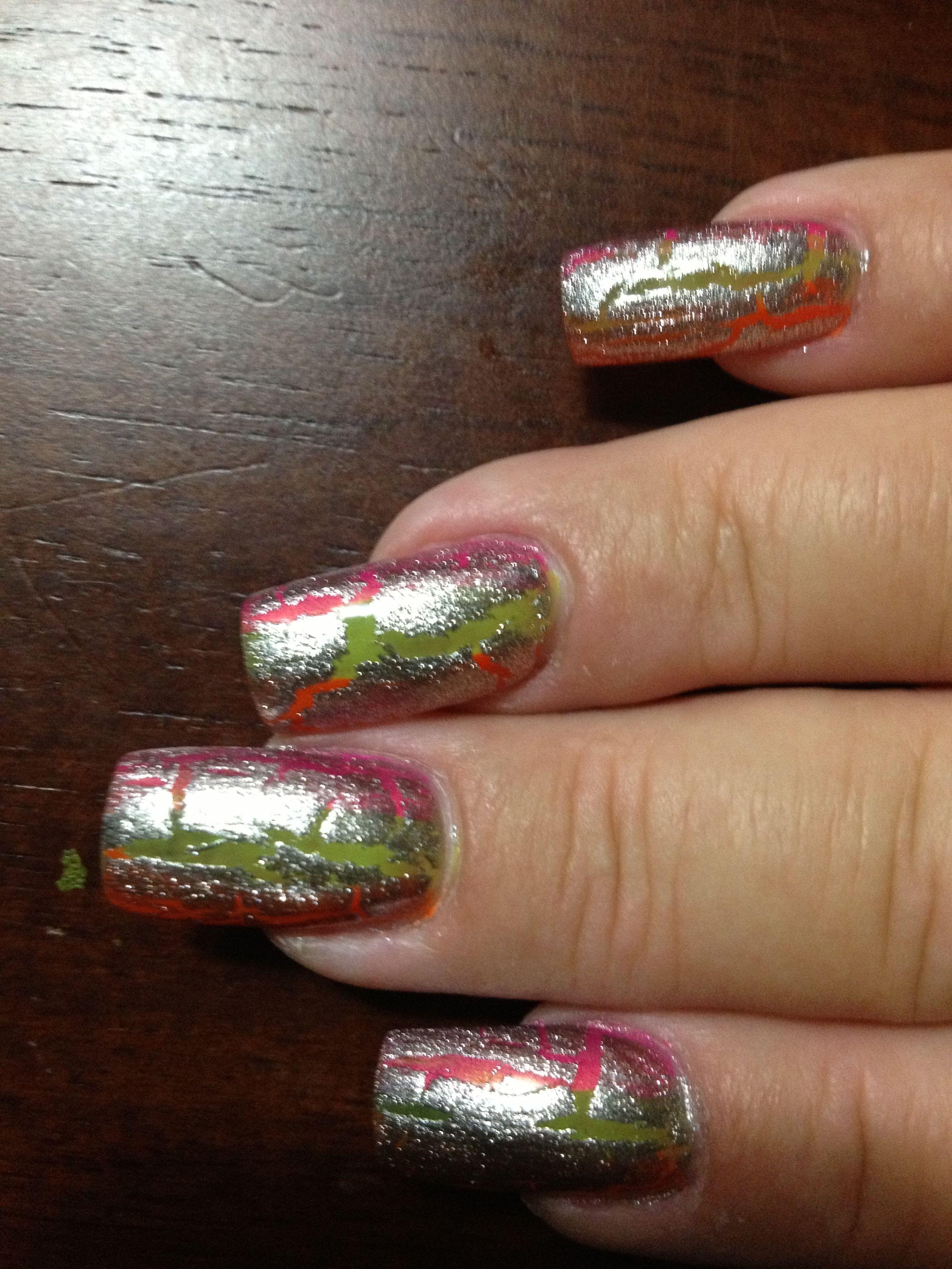 Scary nails  10/26/12