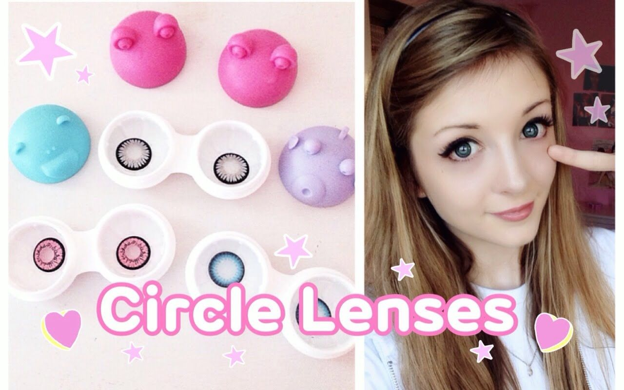How to Insert, Care for and Remove Circle & Contact Lenses
