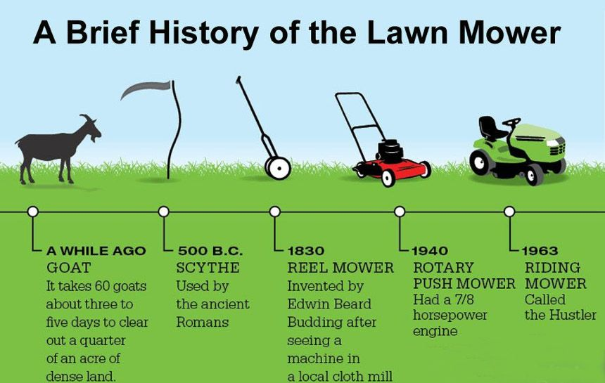 A Brief History Of The Lawnmower Lawn Mower Repair Lawn