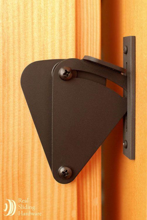 Teardrop Privacy Sliding Barn Door Latch Lock Portas De Correr